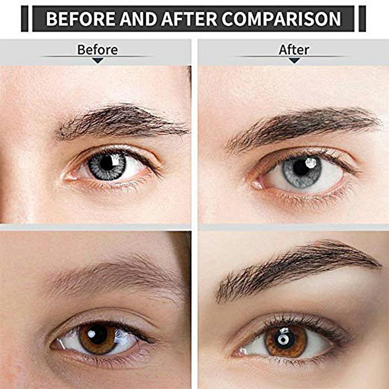 Mini Lipstick Shape Electric Eyebrow Trimmer Shaver Face Brows Hair Remover Painless Eye Brow Epilator Pen - Black