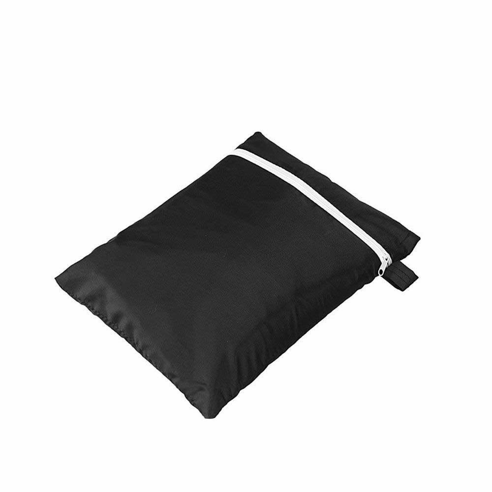 210D Caravan Front Towing Protector Covers Towing Cover Protector Universal Shield Guard - Black + Gray