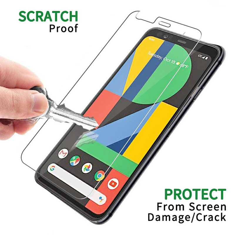 Transparent HD Clarity Scratchproof Screen Protective Film Screen Protector 3D Glass Tempered Glass for Google Pixel 4XL