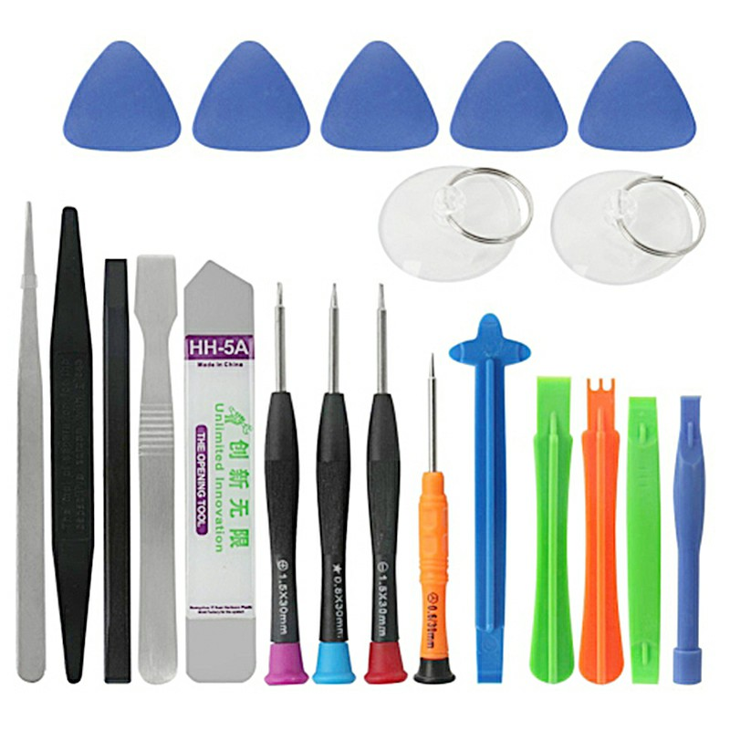 21 in 1 Screwdriver Set Multi-function Phone Repair Tools Kits Electronic Device Repair Screwdriver Tool Bit for iPhone