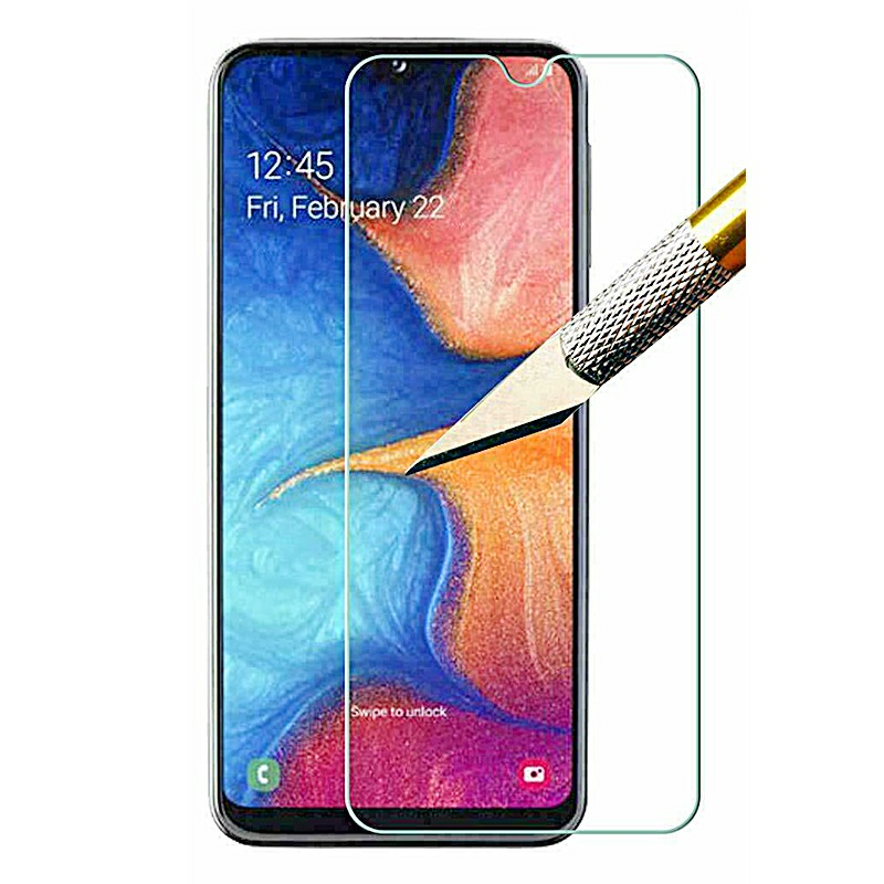0.3mm Waterproof High Transparence Tempered Glass Screen Protector Film for Samsung Galaxy A20e 2019