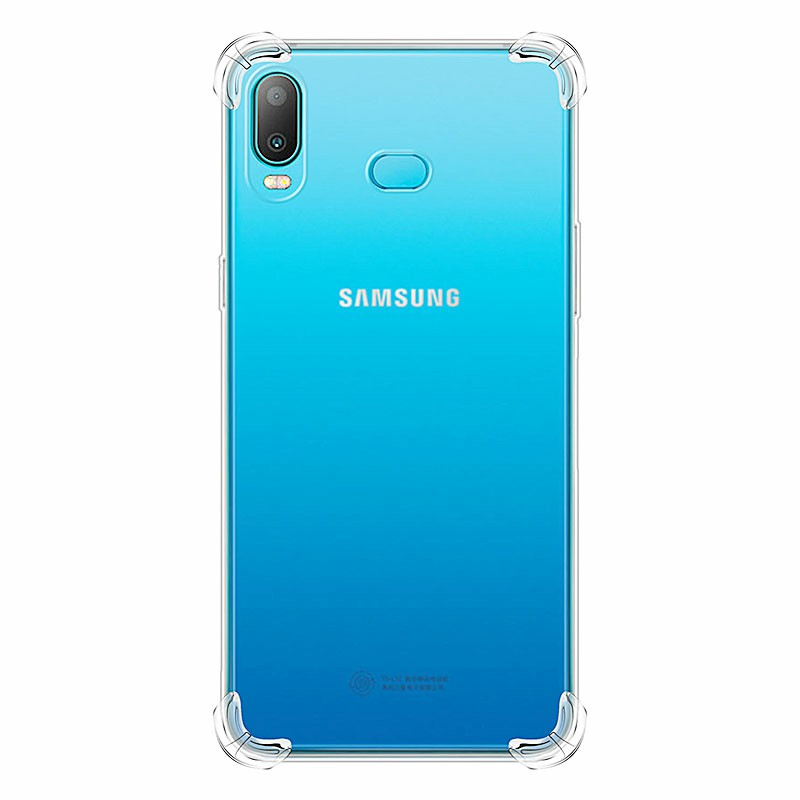 Clear Bumper Slim Phone Back Cover Soft TPU Silicon Protective Skin Case for Samsung Galaxy A6S