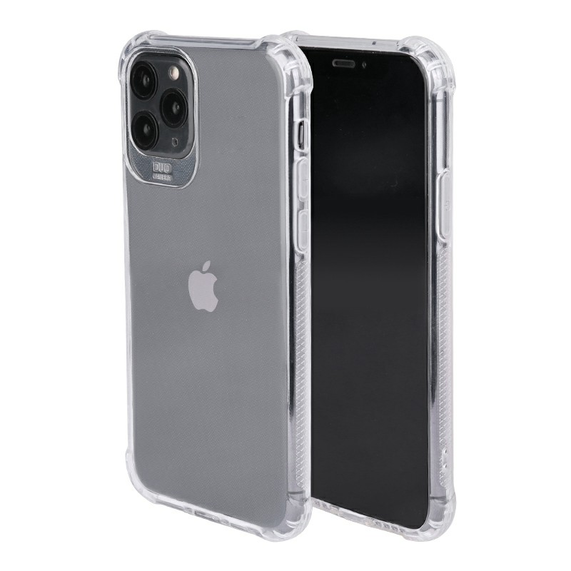 Soft TPU Rubber Fitted Skin Silicone Protective Case Ultra Thin Back Bumper Cover for iPhone 11 Pro Max - Clear
