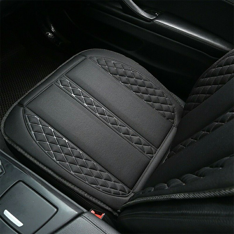 12V Non-Slip Car Seat Fiber Heating Seat Pad Heating Pad Heating Mats Heatable Seat Mat - Black