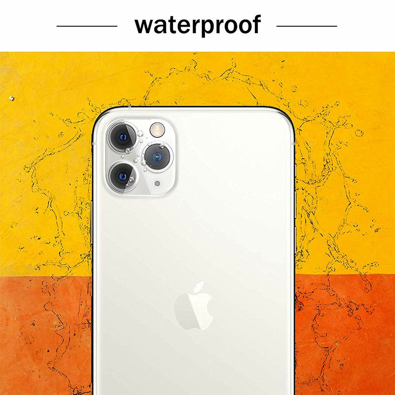 Transparent HD Camera Lens Protector Protective Tempered Glass Film Fit for iPhone 11 Pro Max and iPhone 11 Pro