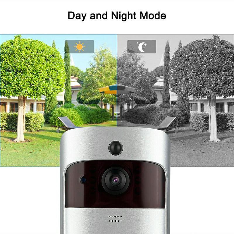 Smart Wireless Wifi Video Doorbell PIR Infrared WLAN Night Vision Wifi Ring Camera Doorbell Wireless Doorbell