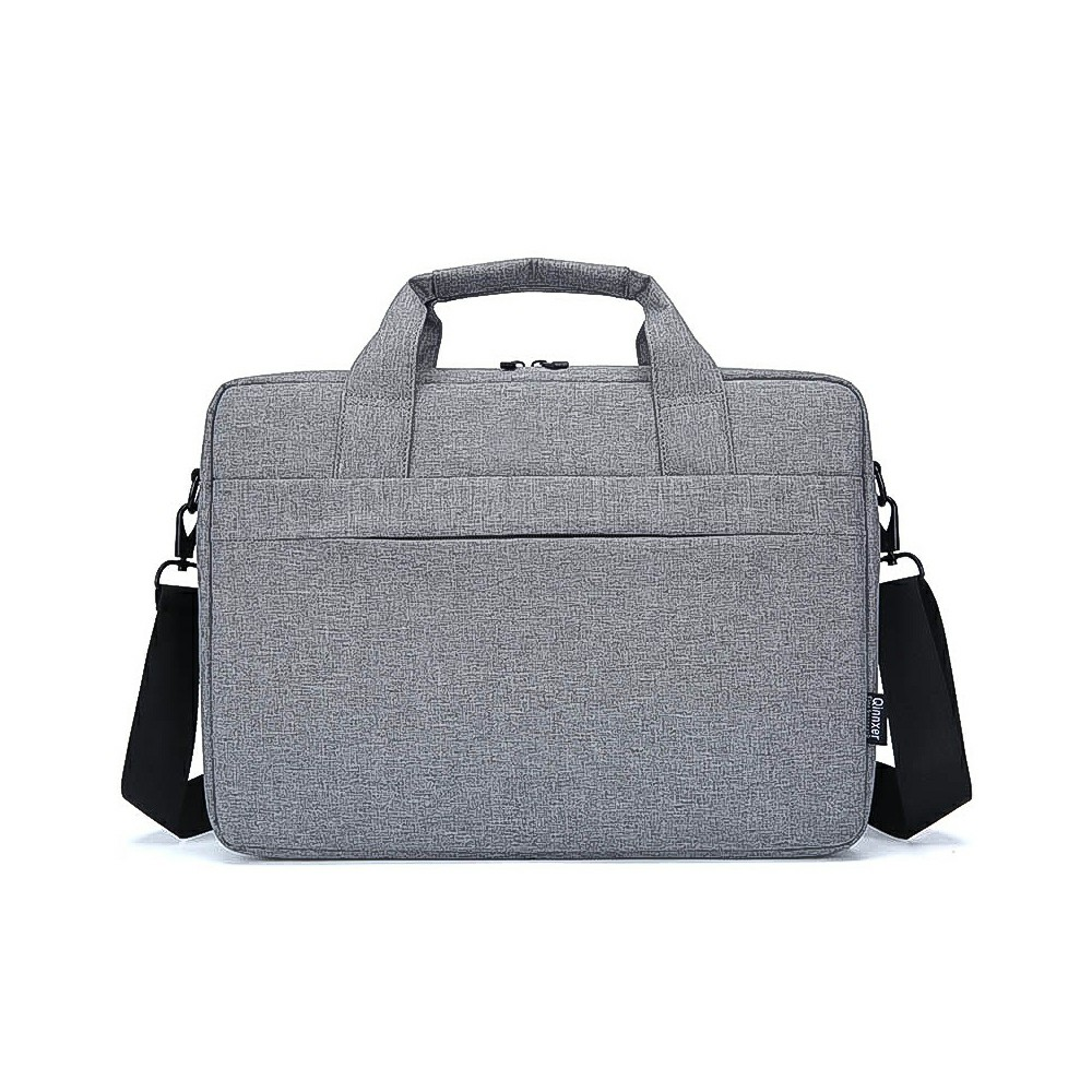Laptop Bag Shoulder Bag Carry Case Cover Tablet Bag with Strap for 14.1 and 15.6 inch Laptop - Grey
