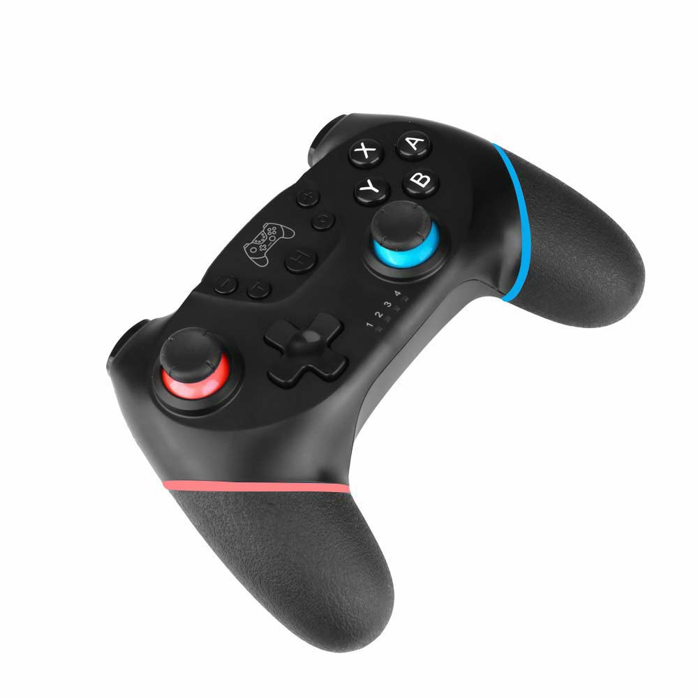 NSP Bluetooth Wireless Gamepad Joystick Pro Controller for Nintendo Switch - Red + Blue