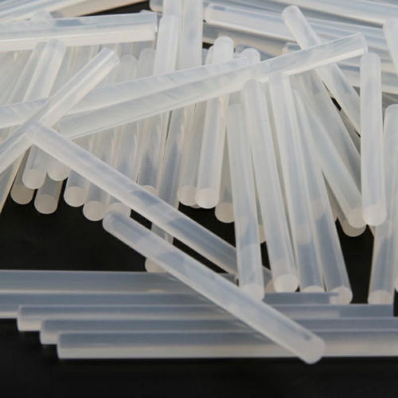 Extra Long Adhesive Hot Melt Glue Rod Sticks for Electric Gun Craft Tool 7mm x 100mm