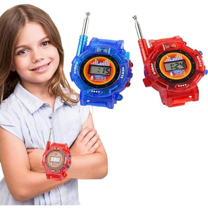 1 Pair Children Parent Walkie Talkies Toys Kids Military Playing House Toys