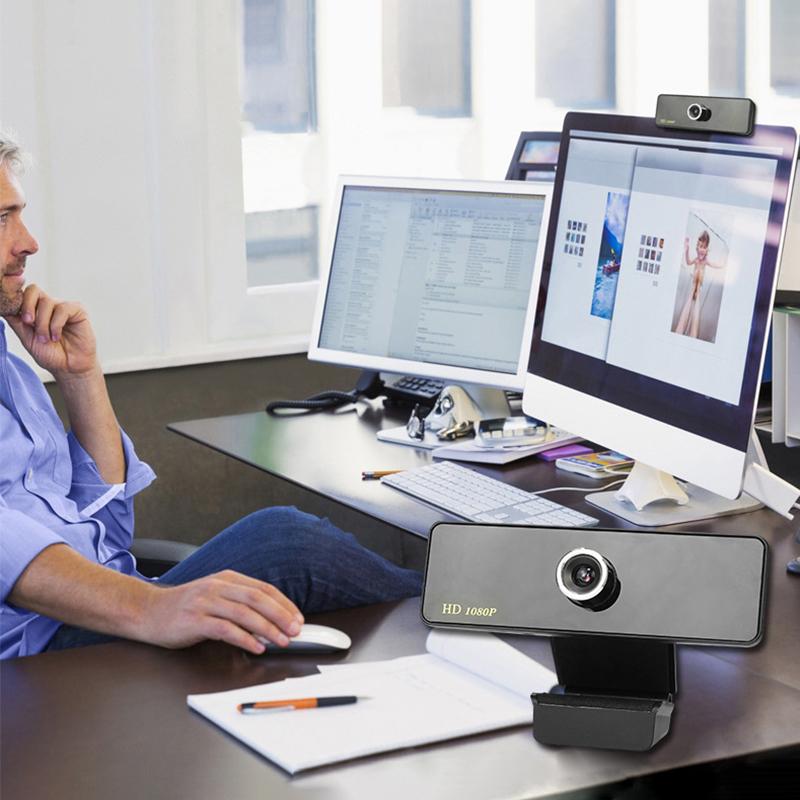 1080P Full HD Camera Live Streaming Webcam Built-in Digital MIC TV Dedicated