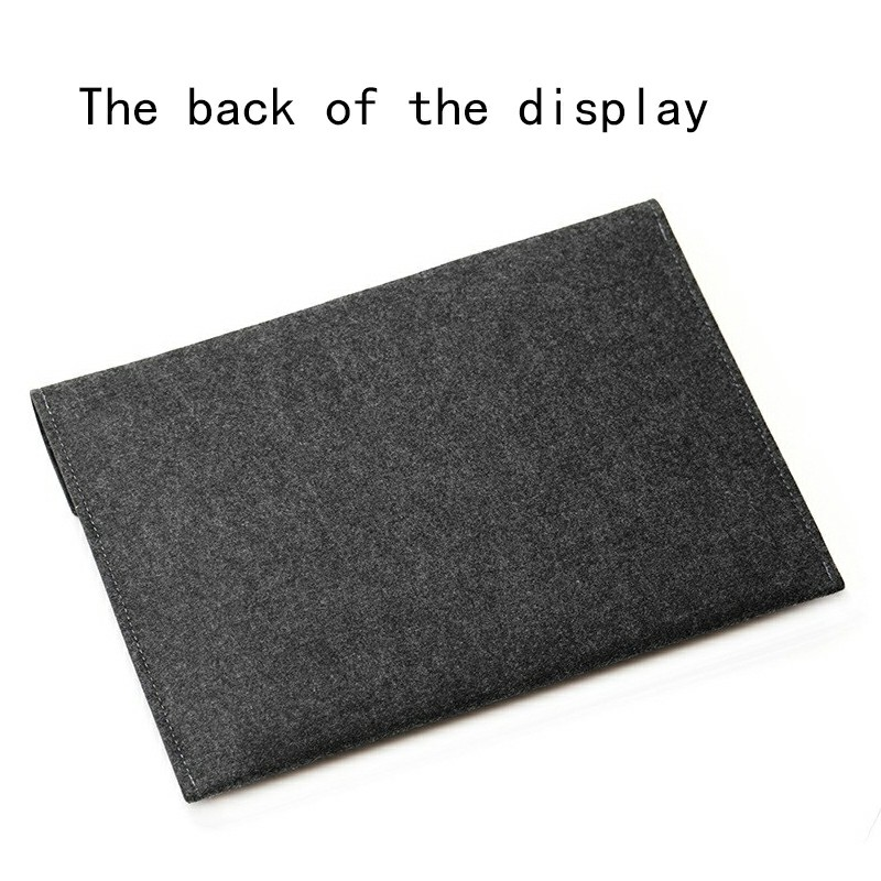 8 Inch Sleeve Felt Laptop Protective Case iPad Mini Series and iPad air 1/2 - Dark Grey