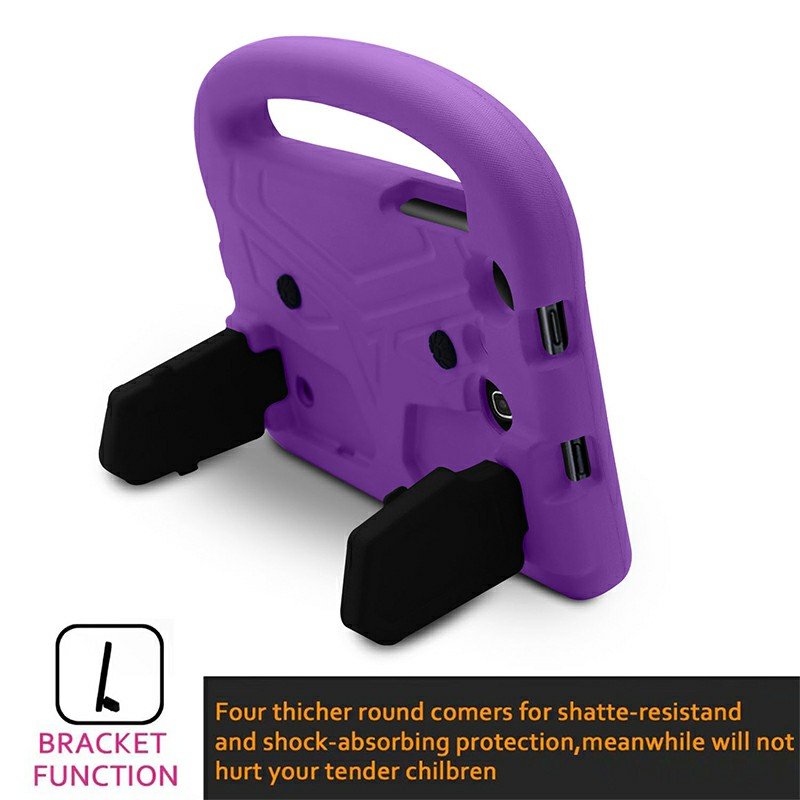 Shakeproof EVA Foam Stand Case Cover For Samsung Universal Tablet 7inch - Purple