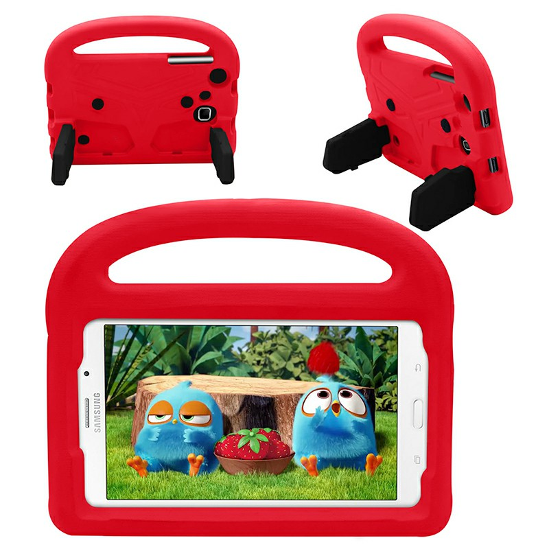 Shakeproof EVA Foam Stand Case Cover For Samsung Universal Tablet 7inch - Red