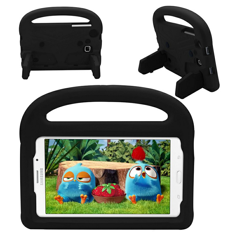 Shakeproof EVA Foam Stand Case Cover For Samsung Universal Tablet 7inch - Black