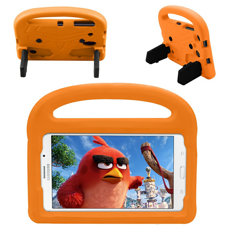 Shakeproof EVA Foam Stand Case Cover for Samsung Universal Tablet 8 inch - Orange