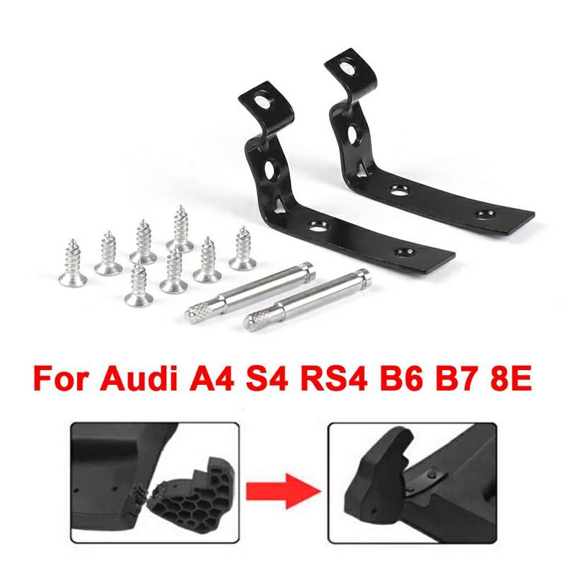 Glove Box Lid Hinge Snapped Repair Fix Kit Brackets for Audi A4 S4 RS4 B6 B7 8E