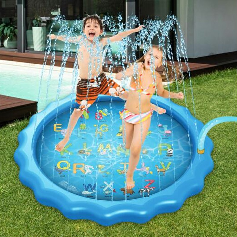Style Slice Sprinkler for Kids Splash Pad 170cm Water Play Mat