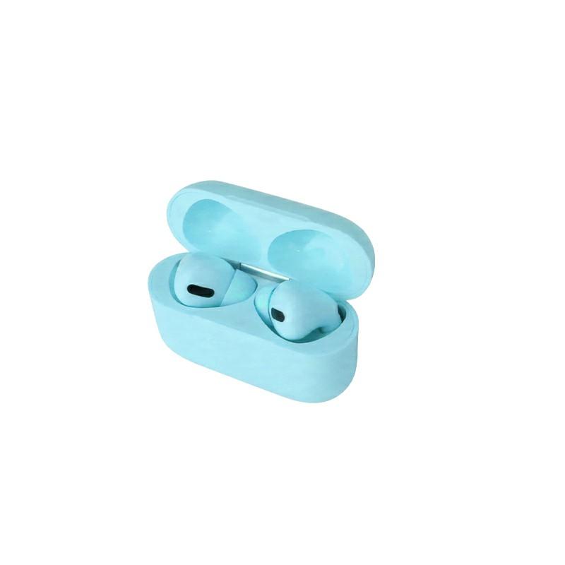 Macaron Air Pro Wireless Headphones Bluetooth 5.0 Touch Control In-ear Earphones - Blue