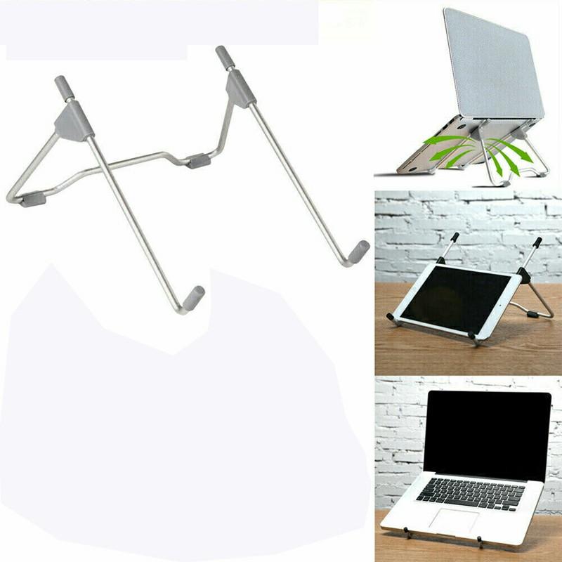 Adjustable Folding Holder Laptop Stand Support Holder - Grey