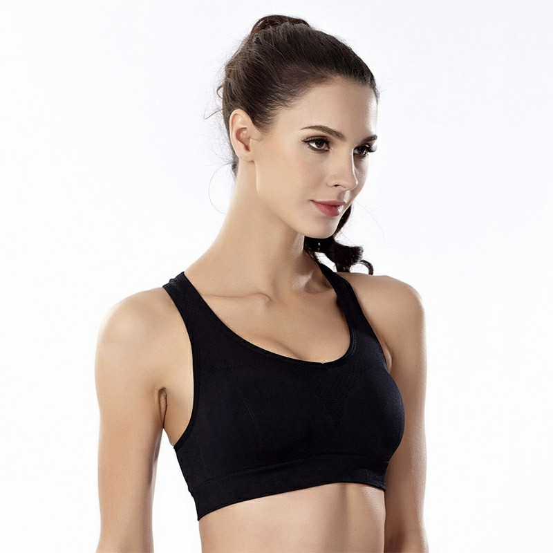 Sports Bra Women Underwear Sexy Bralette Top Push Up Bra Padded Bra - L