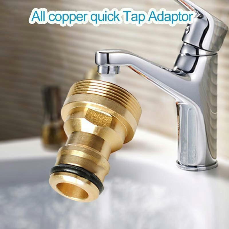Universal Kitchen Tap Connector Mixer Hose Garden Adaptor Pipe Joiner Fitting