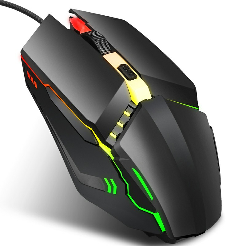 S200 Adjustable DPI LED Optical Wired Gaming Mouse