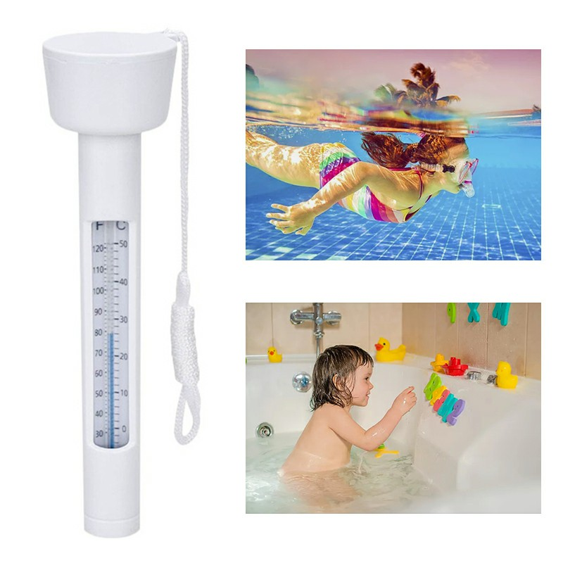 Summer Floating Thermometer Swimming Pool Tub Spa Water Temperature Meture