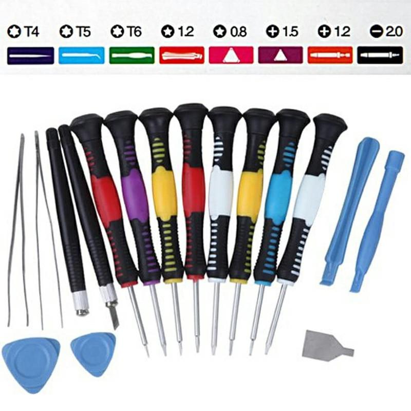 16 pcs Professional 16 Pieces Precision Screwdriver Bit Set Repair Tools Kit