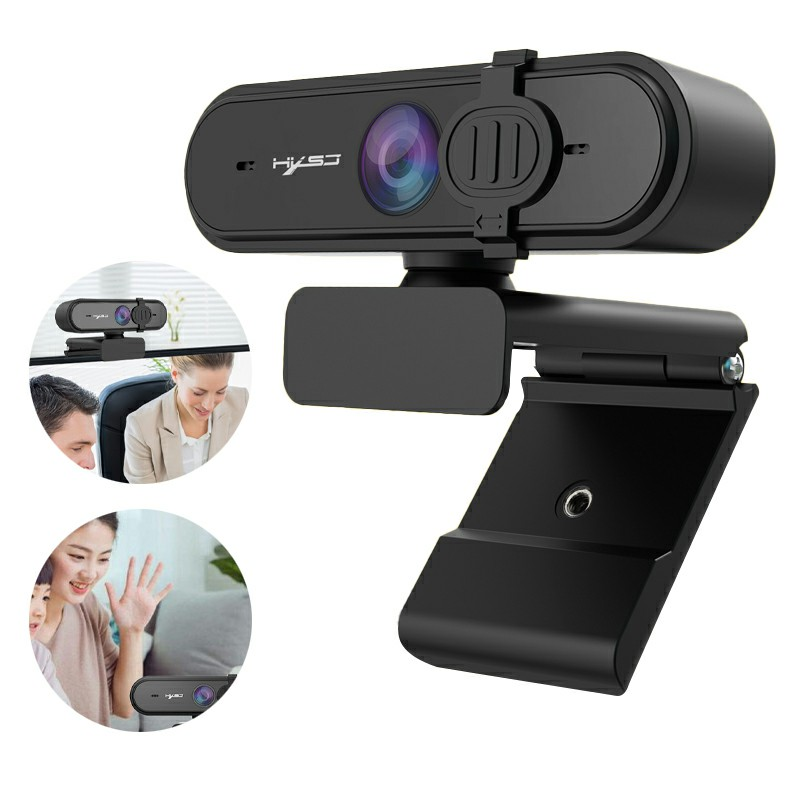S4 Full HD 1080P 2 Million Autofocus Wide-angle Webcam