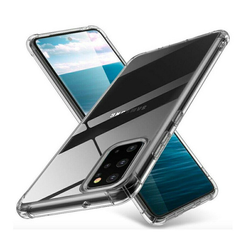 TPU Rubber Soft Skin Silicone Protective Case for Samsung Galaxy A91