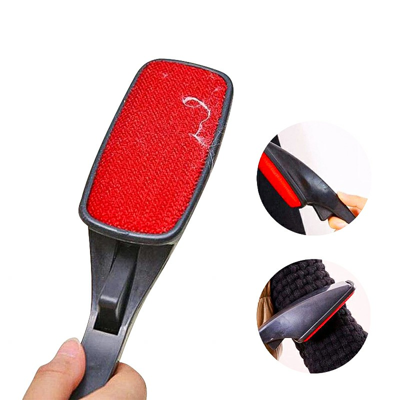 Magic Lint Fluff Fabric Clothes Dust Brush Pet Hair Remover Cleaner Swivel