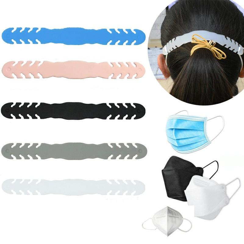 Silicone Anti-Slip Extension Hook Buckle Ear Grips Hook - Black