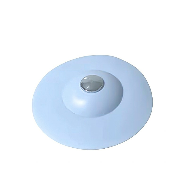 Sink Plug Silicone Drain Kitchen Bath Water Drainer Strainer Stopper Disposal - Blue