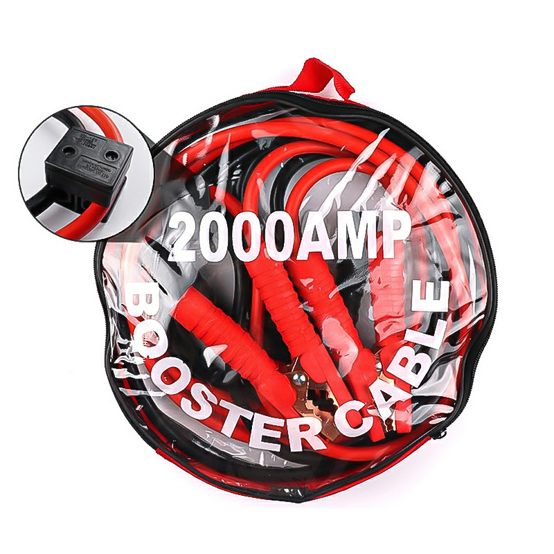 3m 2000AMP Heavy Duty Car Van Jump Leads Booster Cables Start Recovery