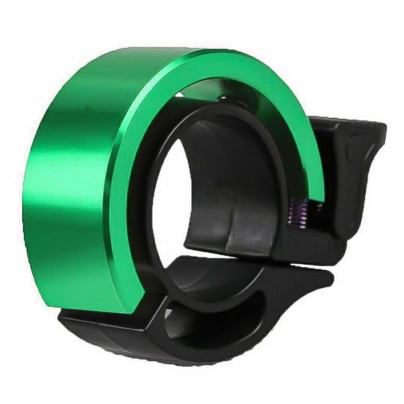 Bicycle Bell Aluminum Alloy Bike Alarm Handlebar Cycling Ring Loud - Green
