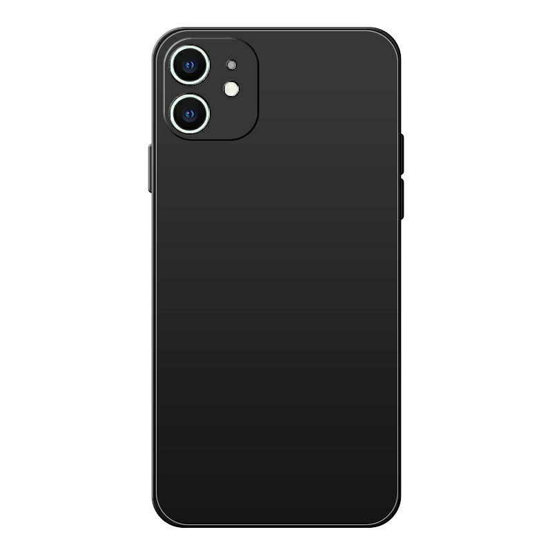Soft Silicone Gel Protective Case Shockproof Phone Cover for iPhone 11 - Black