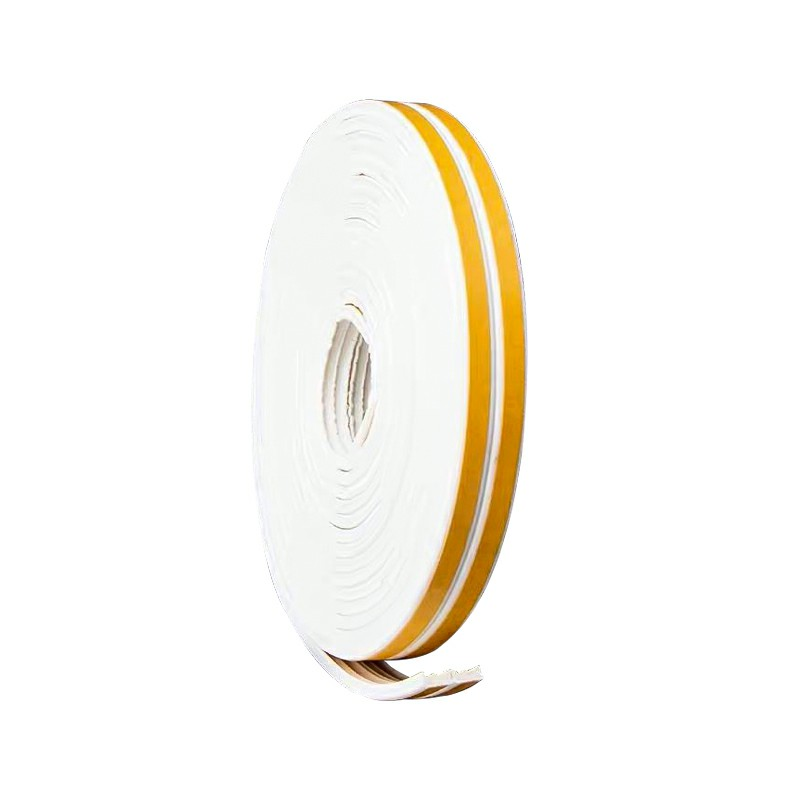 5M Self Adhesive Rubber Door Window Seal Strip Roll Tape D Type - White