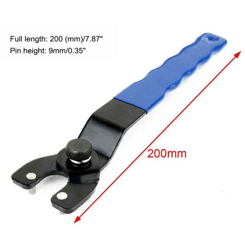Adjustable Angle Grinder Key Pin Spanner Plastic Handle Pin Wrench Spanner