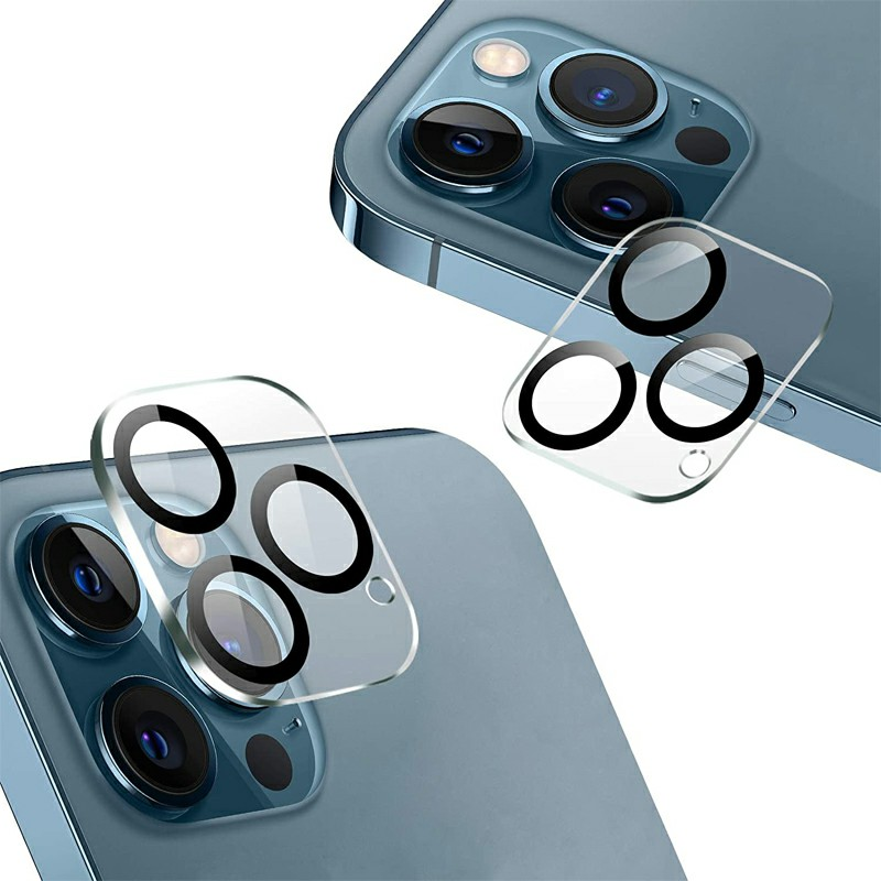 Tempered Glass Camera Lens Protector for iPhone 12 Pro Max