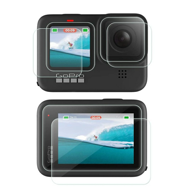 Highly Transparent and High Definition Screen Protector for Gopro Hero 9