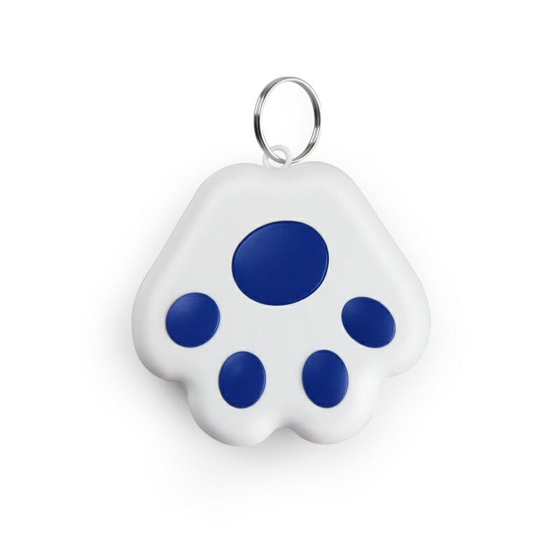 Dog Paw Mini Anti-lost Bluetooth 4.0 Tracker GPS Locator Tag Alarm - Dark Blue