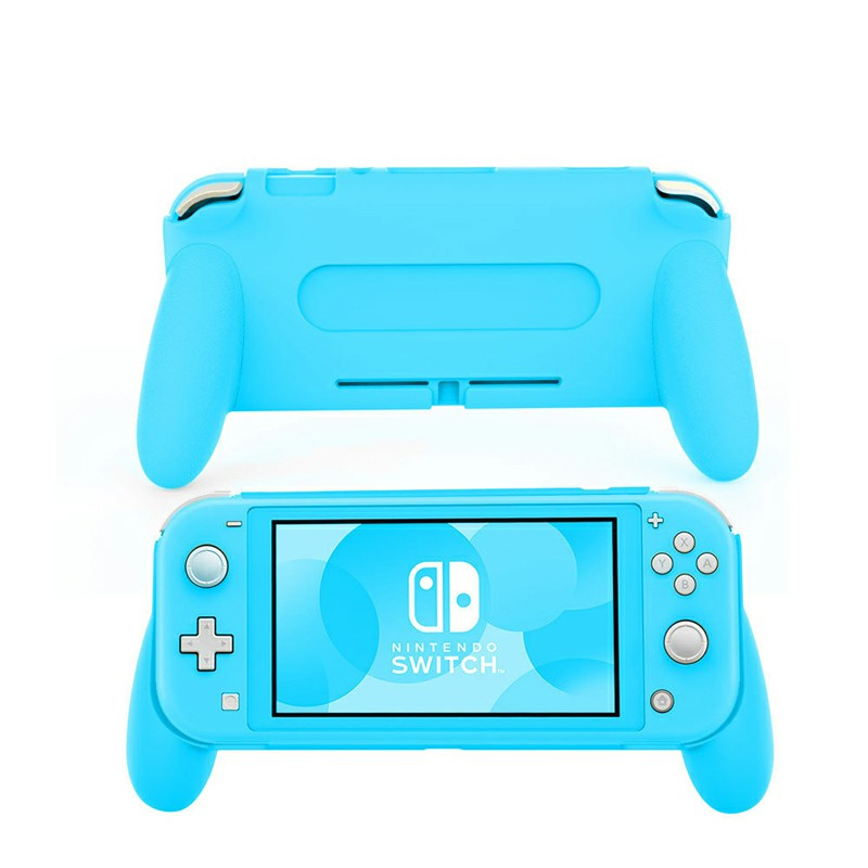 Comfortable and Ergonomic Switch Lite Hand Grip Accessories for Nintendo Switch Lite - Blue