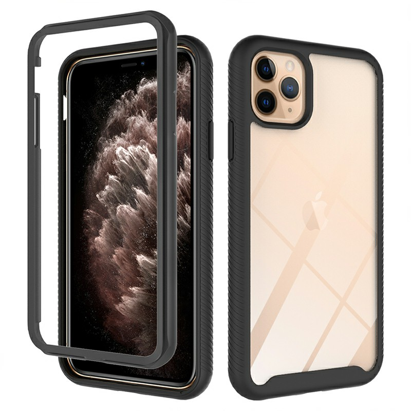 360 degree Full Body Slim Armor Case with Front Frame for iPhone 11 Pro Max