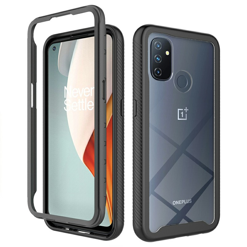 360 degree Full Body Slim Armor Case with Front Frame for OnePlus Nord N100