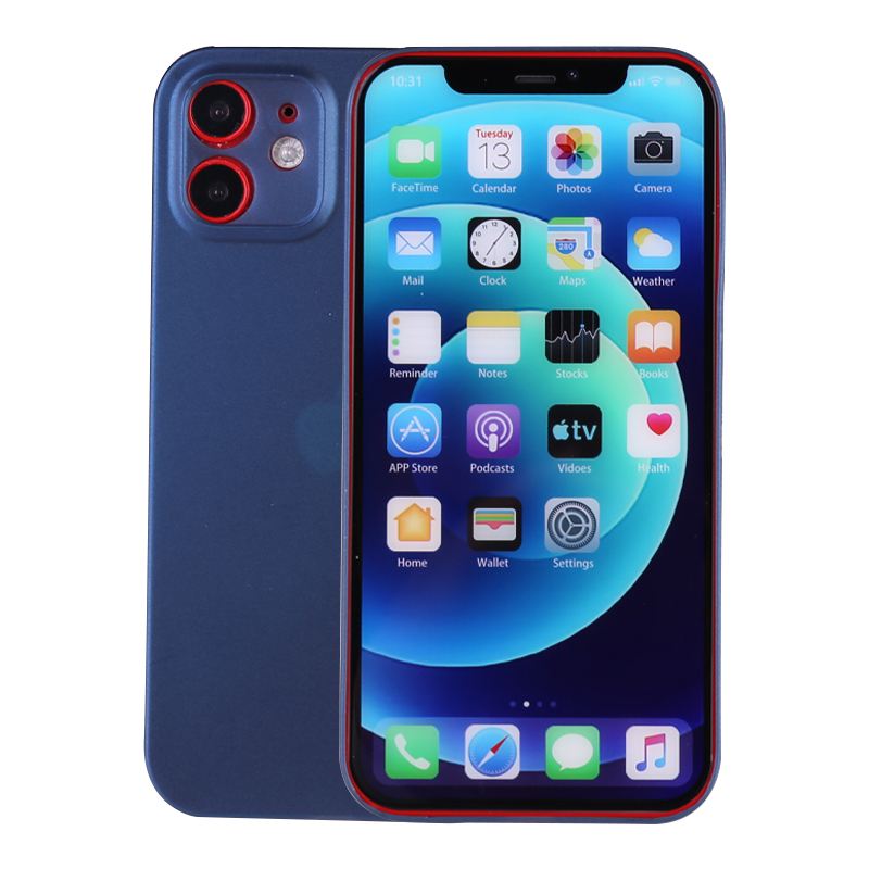 PC Frosted Back Cover Ultra Thin Gard Case for iPhone 12 Mini - Blue