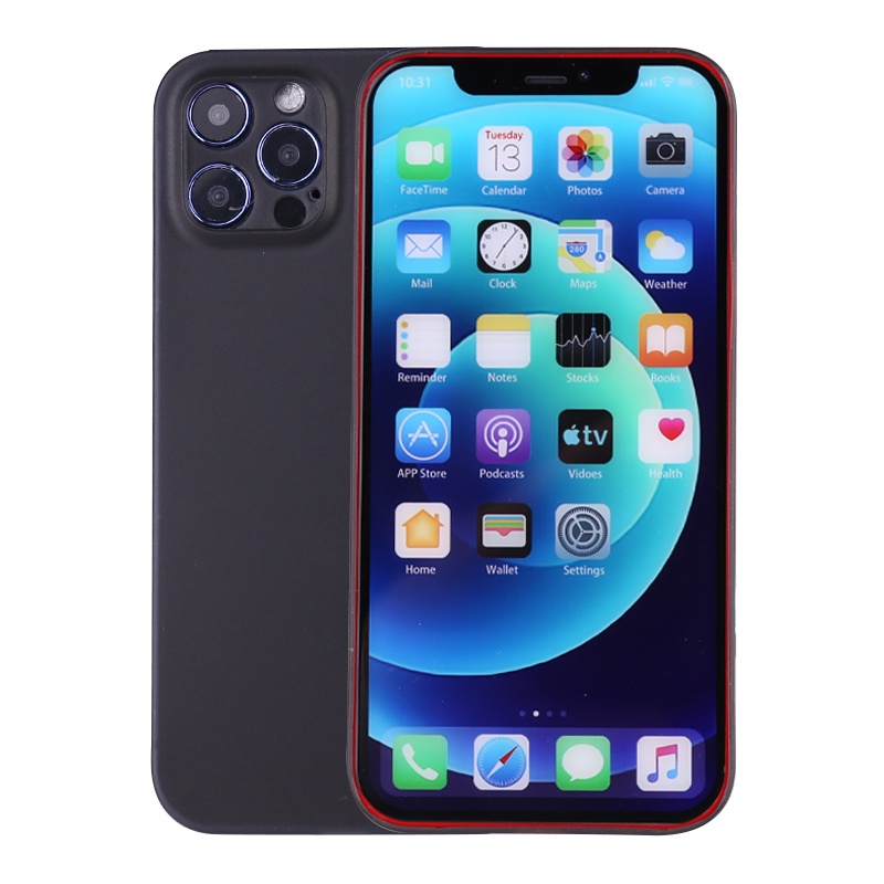PC Frosted Back Cover Ultra Thin Gard Case for iPhone 12 Pro - Black