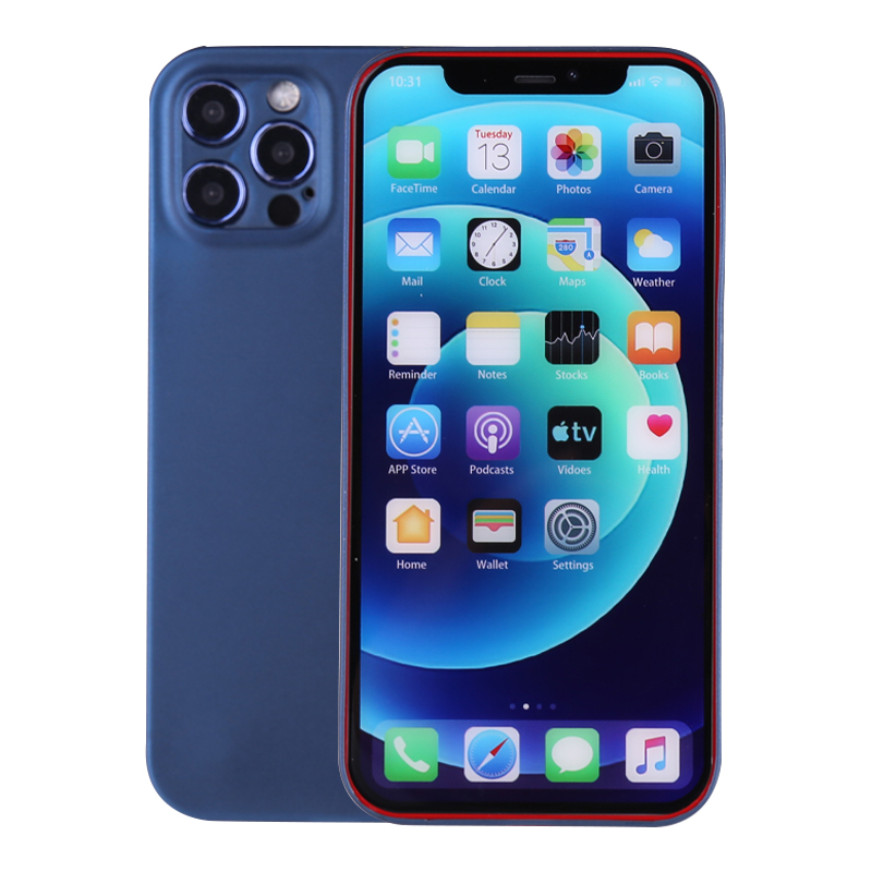PC Frosted Back Cover Ultra Thin Gard Case for iPhone 12 Pro Max - Blue