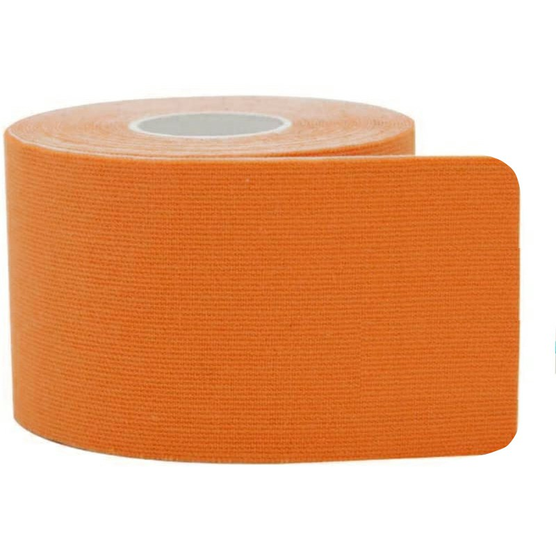 5x5m Athletic Muscle Tape Kinesiology Injury for Body Knee Rocktape - Orange