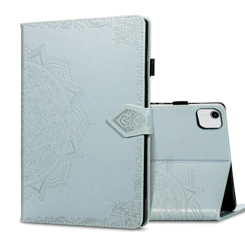 PU Leather Folio Stand Cover Case for iPad air 10.9 inch - Grey